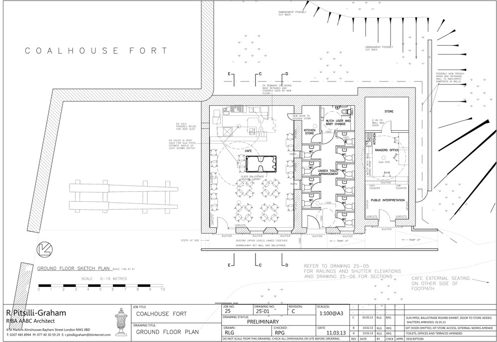 Coalhouse-Fort-Generator-House-proposed-plan-m