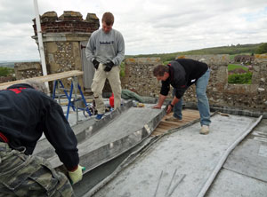 Shorne Church Trial Repair to Historic lead