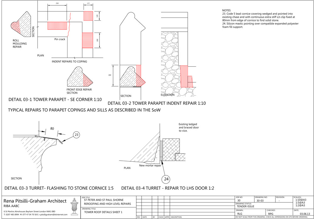 Shorne-Working-Drawing-for-parapet-repair-m