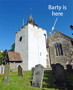 Otford St Bartholomew's Church Repair to Stonework, Tower Render and Timber Framed Porch