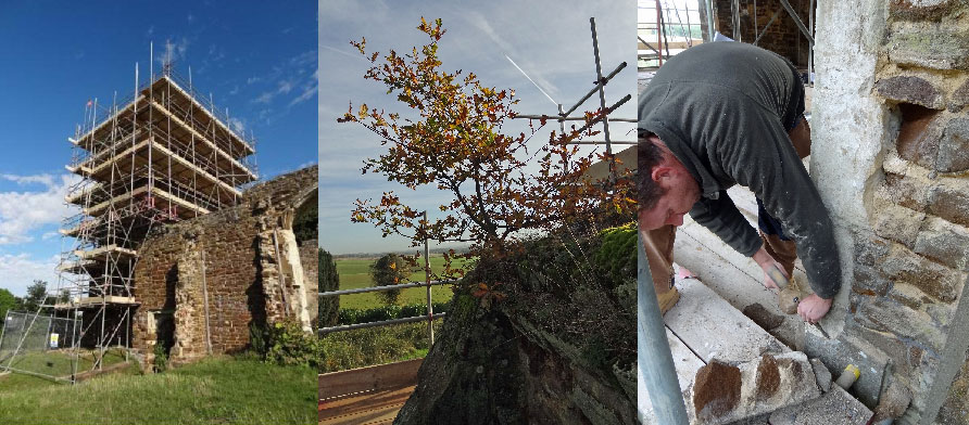Clophill Old St Mary's Church – Consolidation of a Ruin